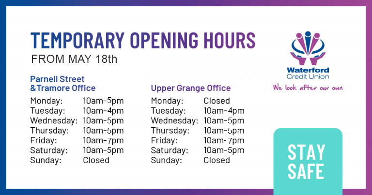 opening hours update 24-06-2020